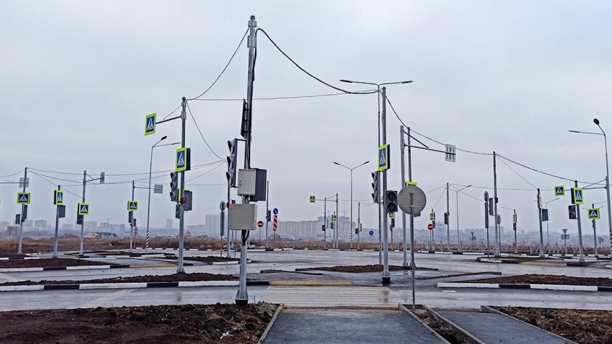32 светофора Ростов