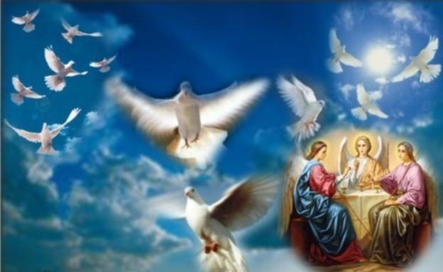 День Святого Духа 2018: картинки, открытки, гифки