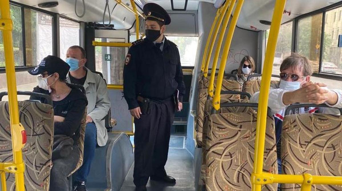 проверки в автобусах Ростова