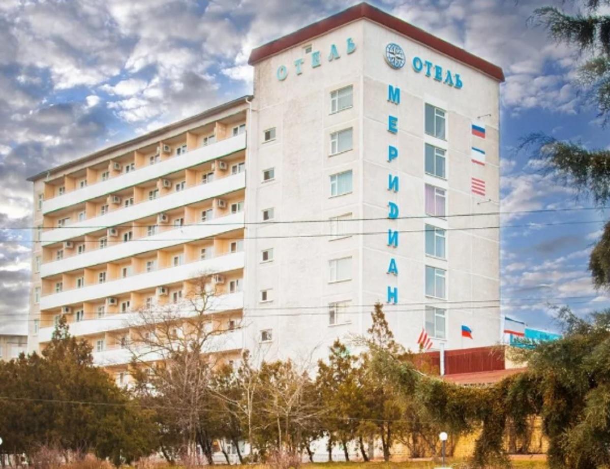 арест гостиницы в Крыму