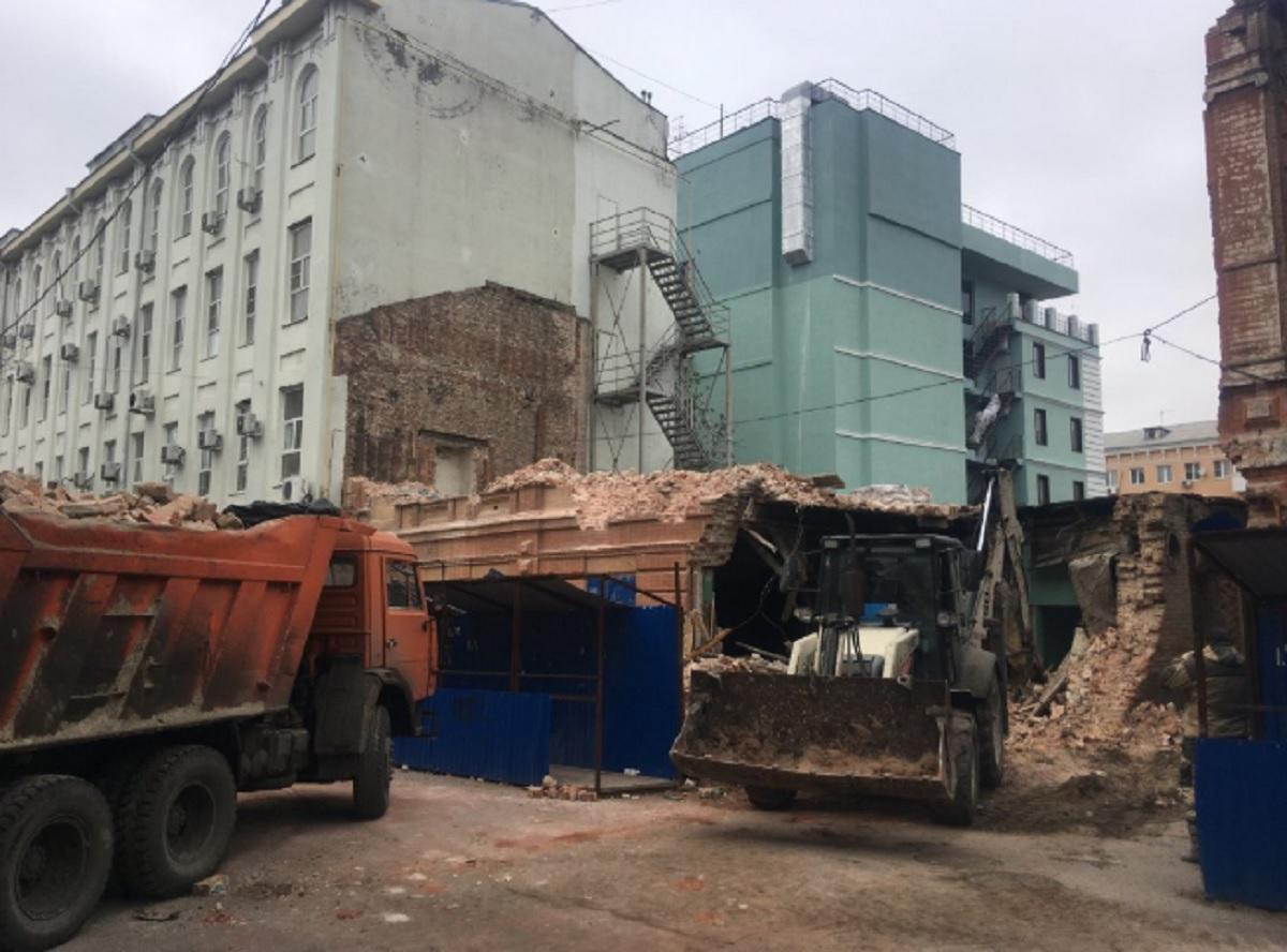 В Ростове снесли историческое здание