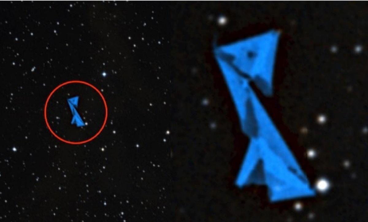 Инопланетная космическая станция замечена в созвездии Ориона