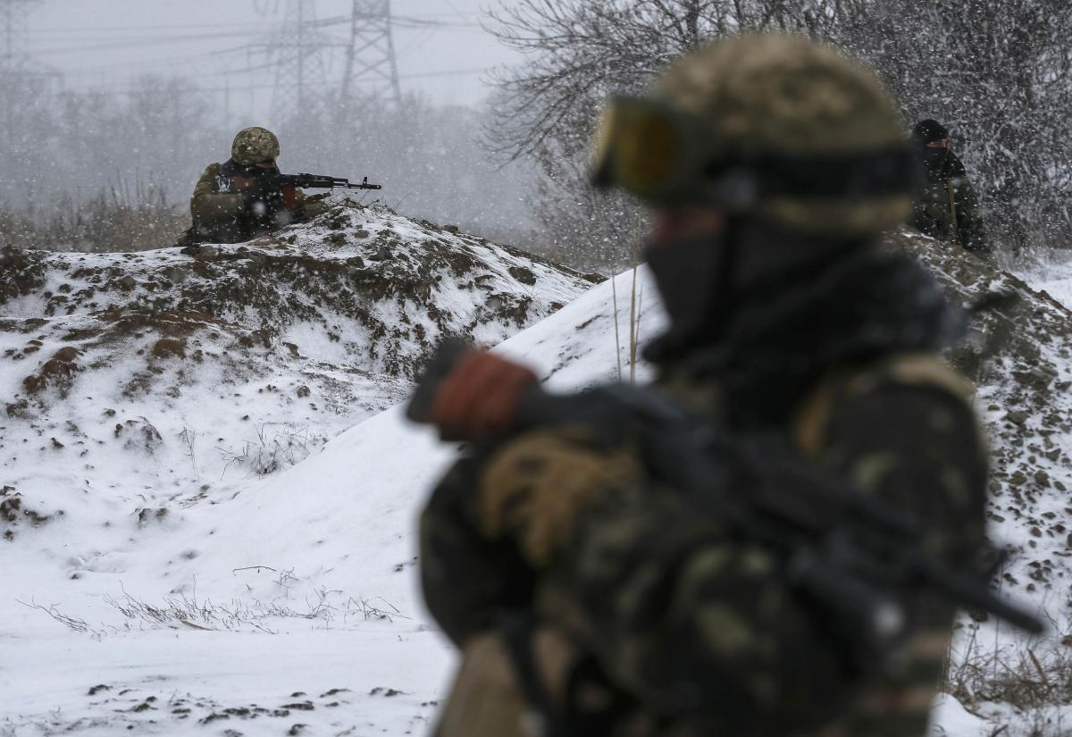 Войска ВСУ заняли позиции под Луганском