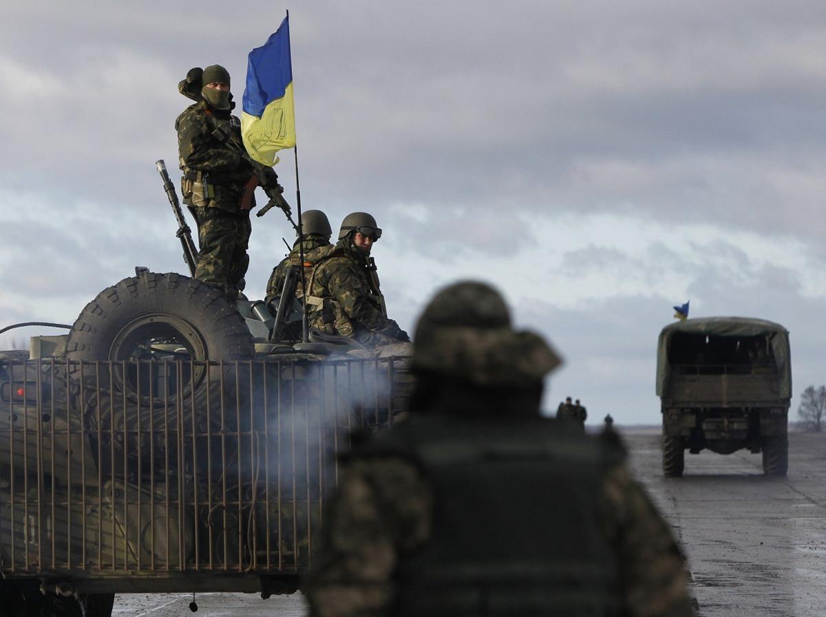 Нападение под Донецком