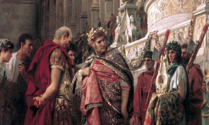 Испанский художник создал новую версию внешности римского императора Нерона
