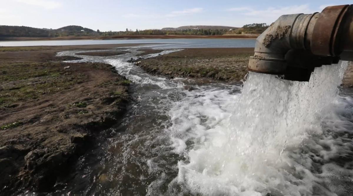Приток воды в Крыму за неделю увеличился в два раза