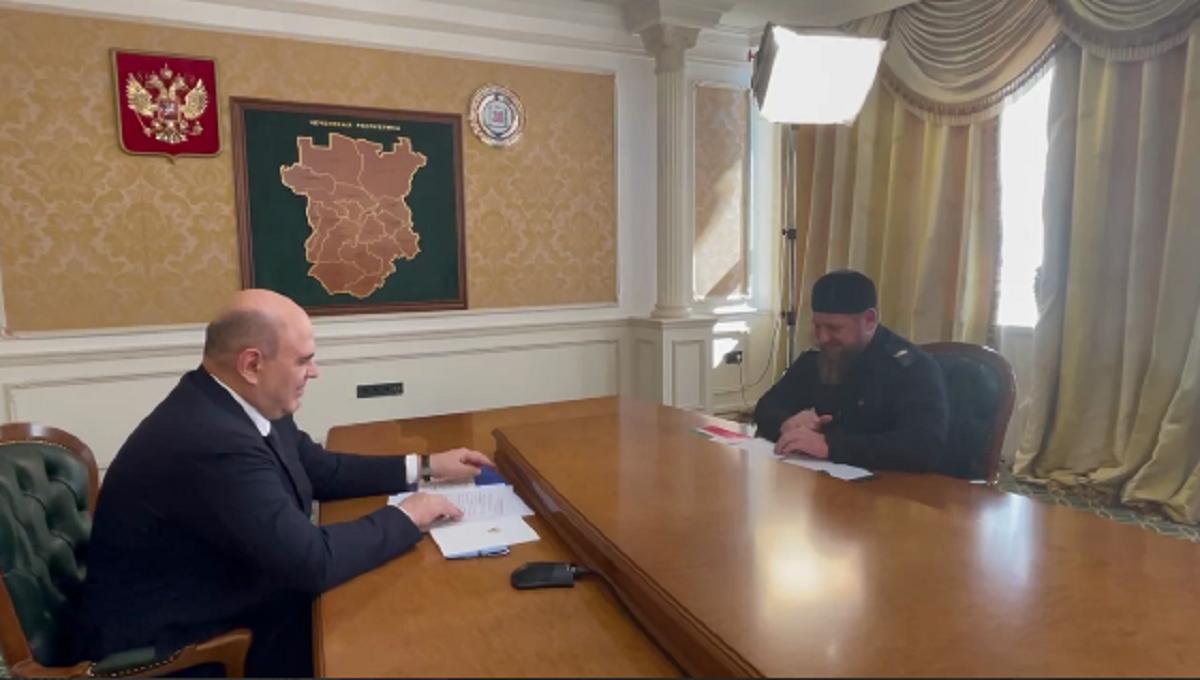 Мишустин в Чечне