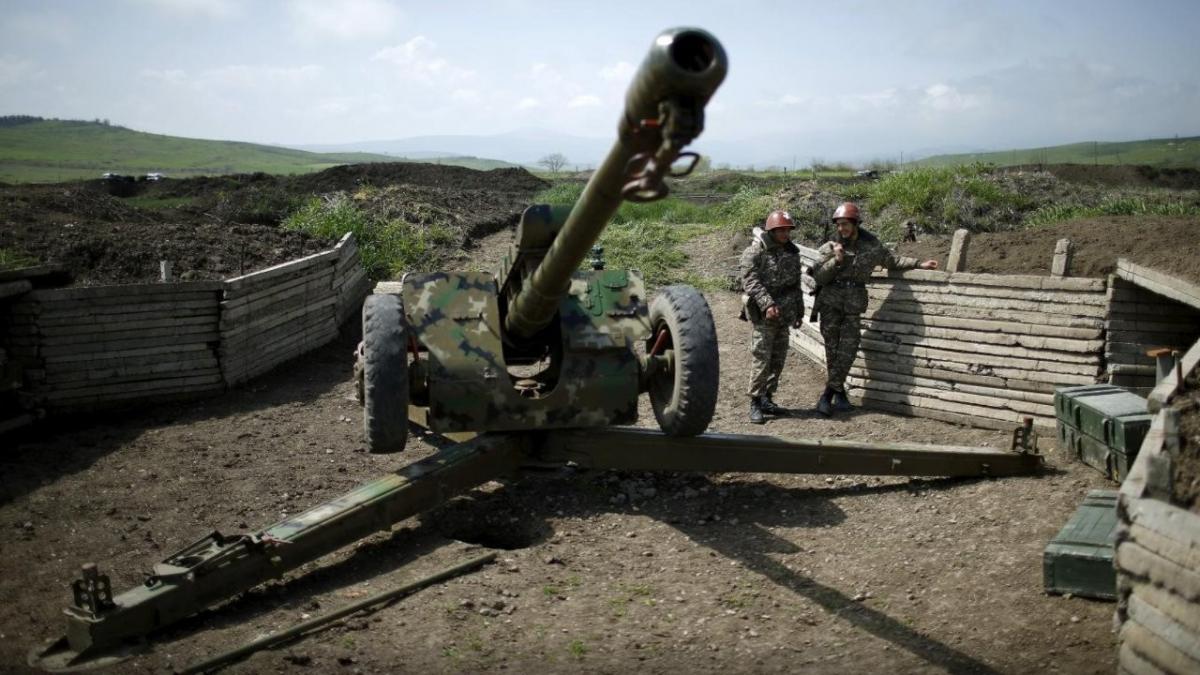 война в Нагорном Карабахе - 27 сентября 2020