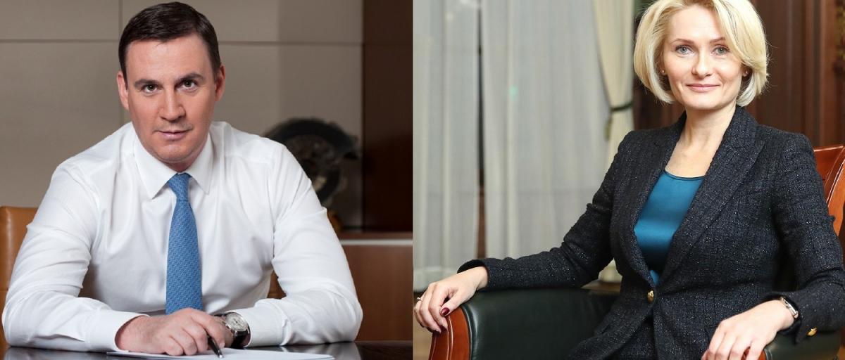 Дмитрий Патрушев и ВикторияАбрамченко