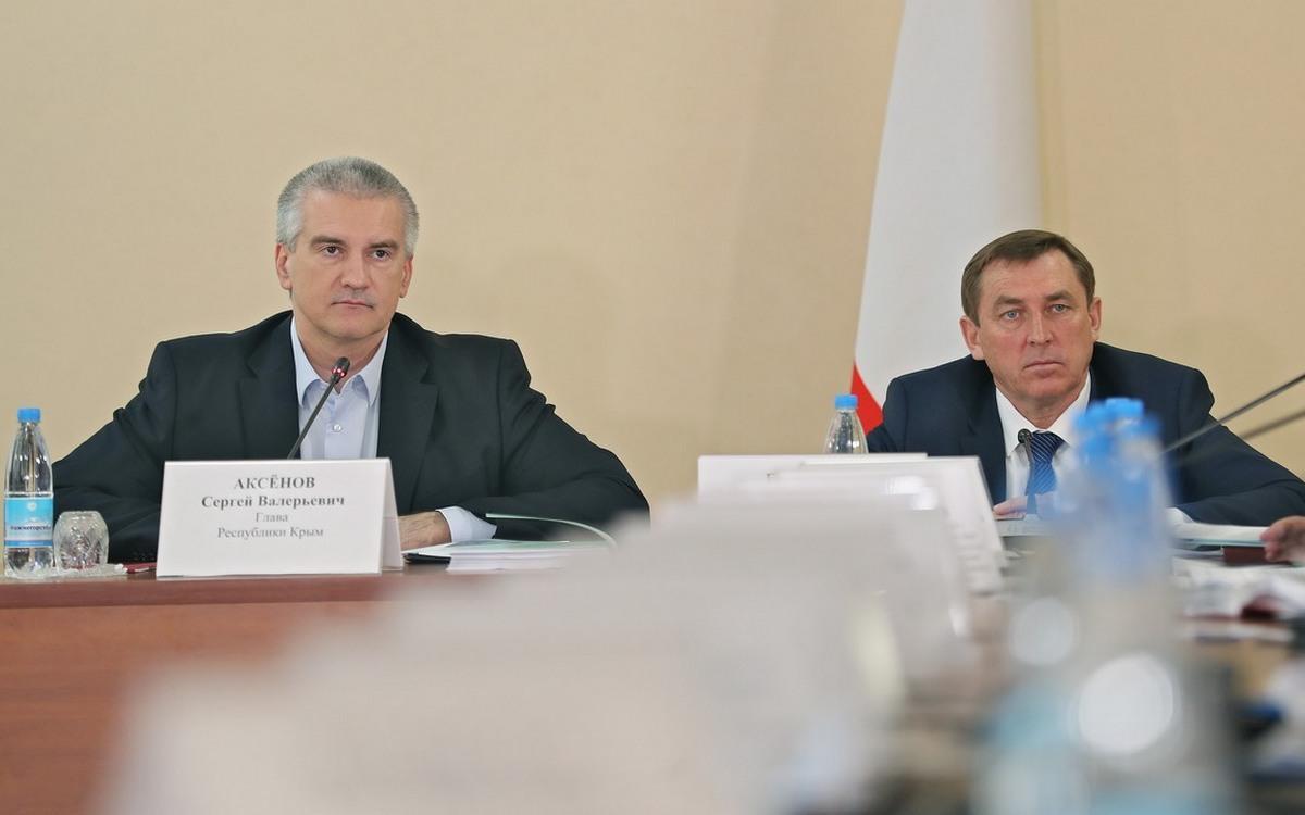 Сергей Аксёнов на заседании оперативного штаба по профилактике распространения коронавируса