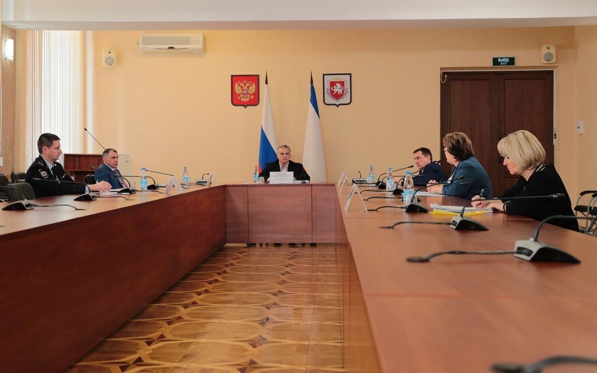Заседание оперштаба в Крыму