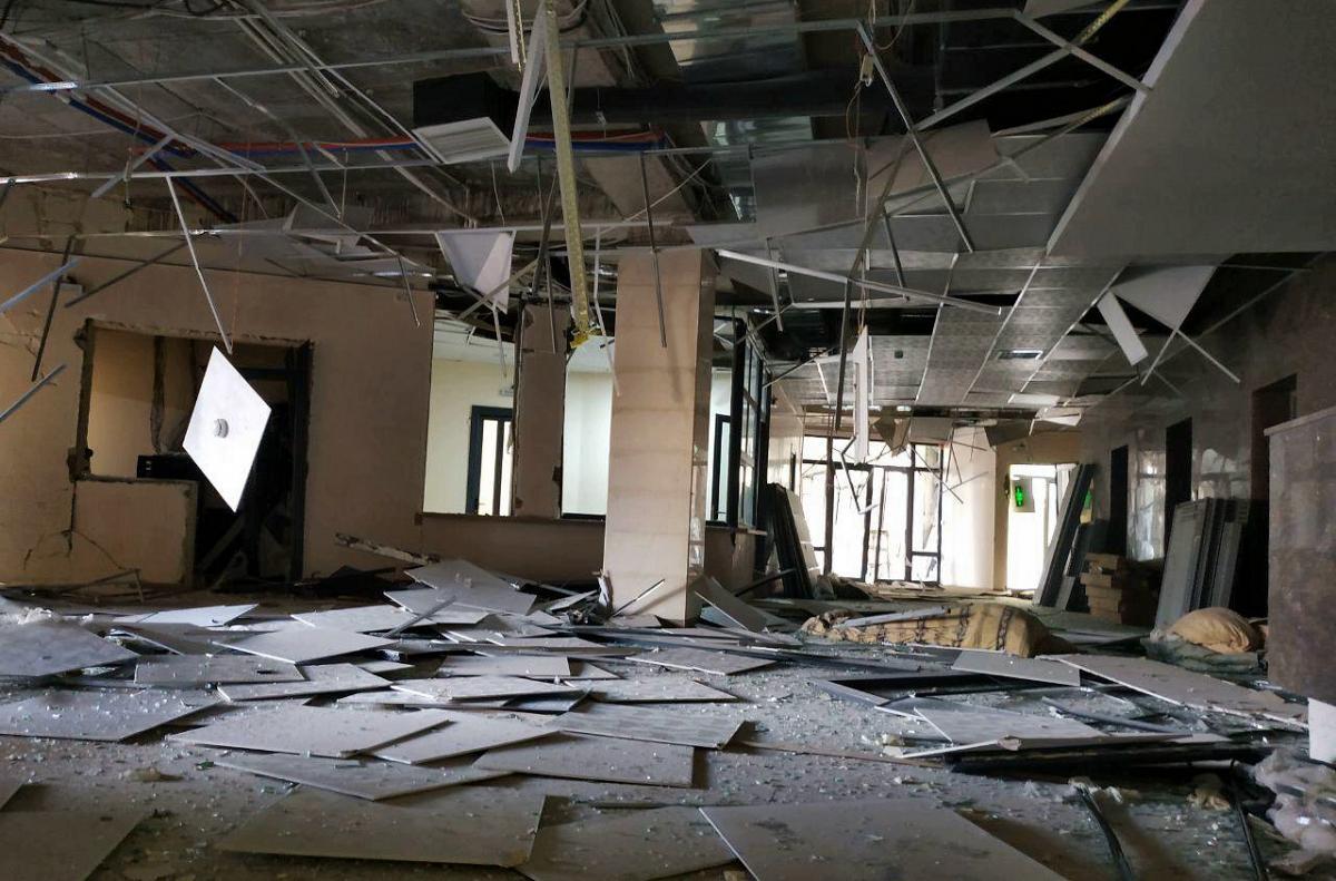 Разрушенное помещение