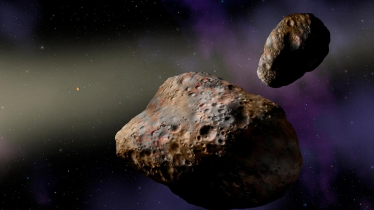 Железный астероид