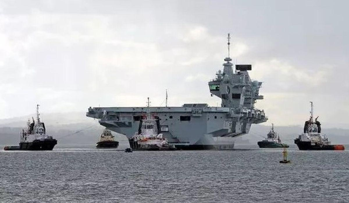 военный корабль «HMS Queen Elizabeth» картинка