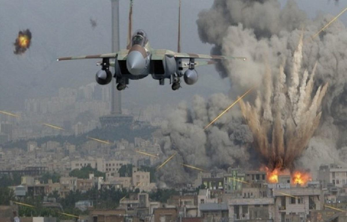 Авиаудар США по Сирии