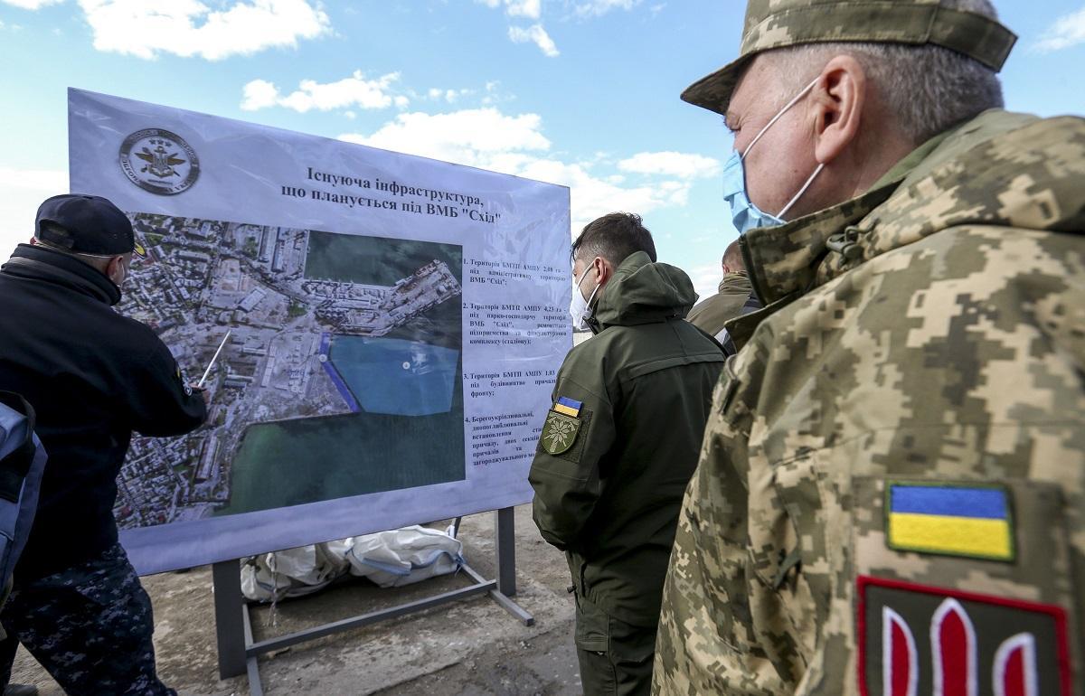 Владимиров Украина ВМС Бердянск