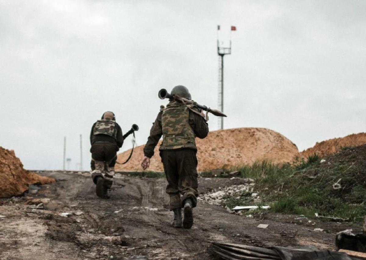 Военные ВСУ в Донбассе