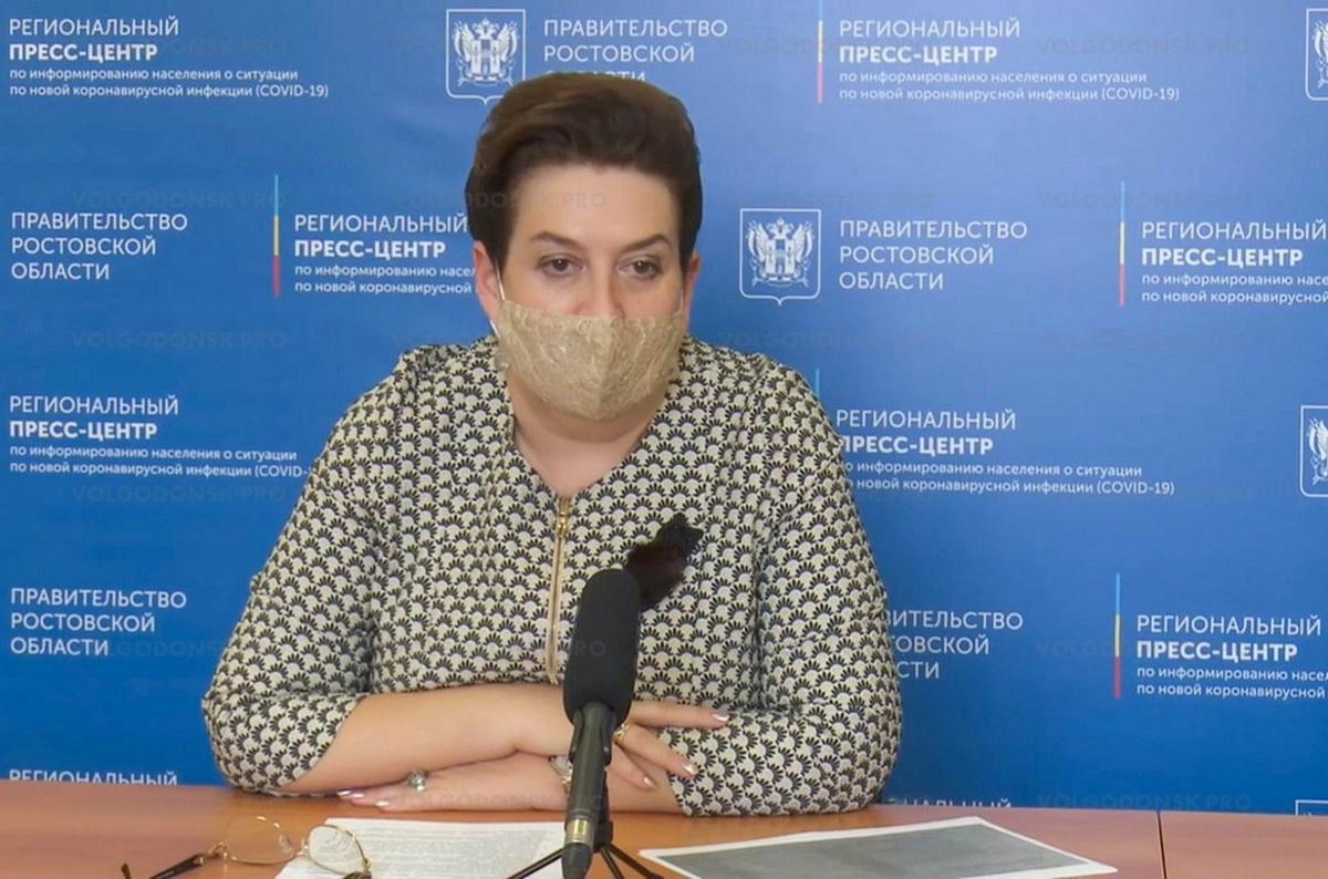 Сколько стоит лечение COVID-19 на дому, озвучила министр здравоохранения Ростовской области