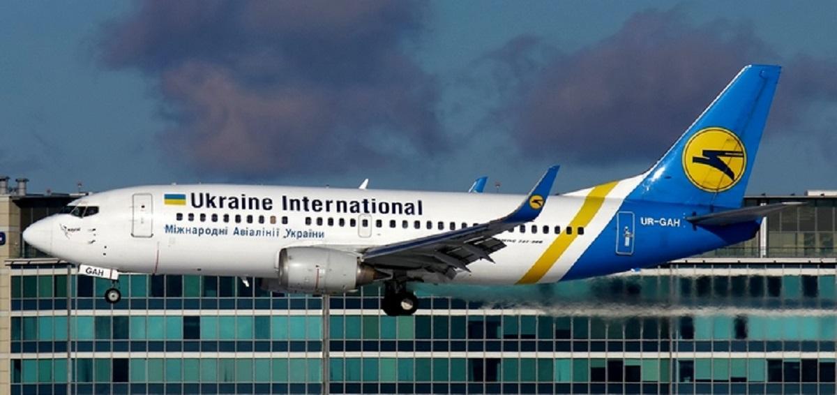 В Иране разбился украинский пассажирский лайнер