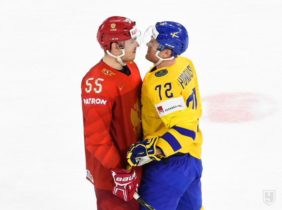Чемпионат мира по хоккею - 2018: результаты последних матчей - Россия - Швеция и других, расписание игр ЧМ, турнирная таблица - кто вышел в плей-офф