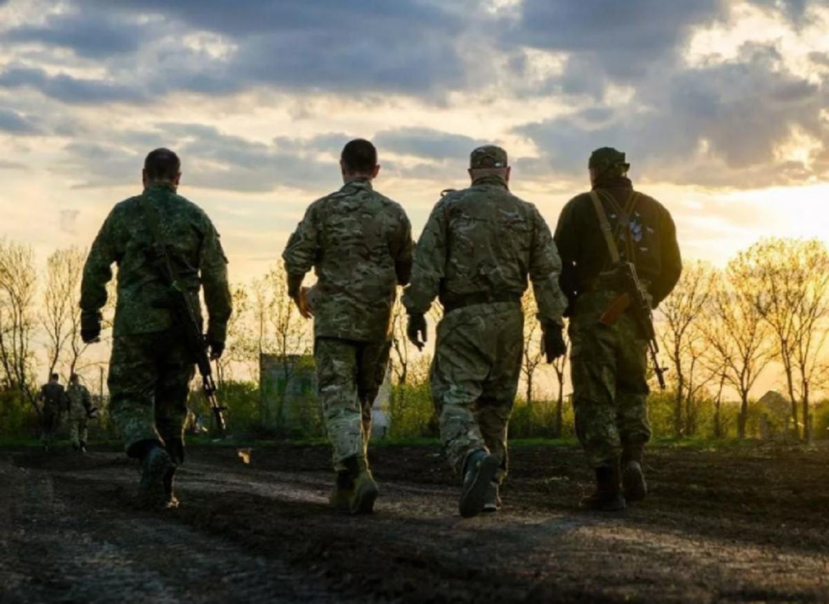 Донбасс украинские военные