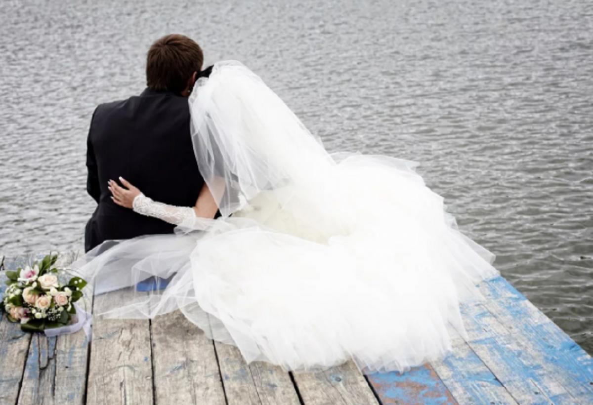 Молодожены свадьба