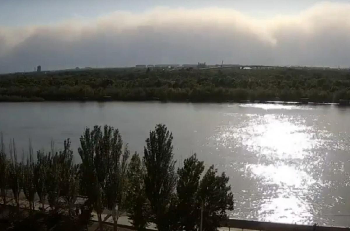 Пыльная буря Астрахань