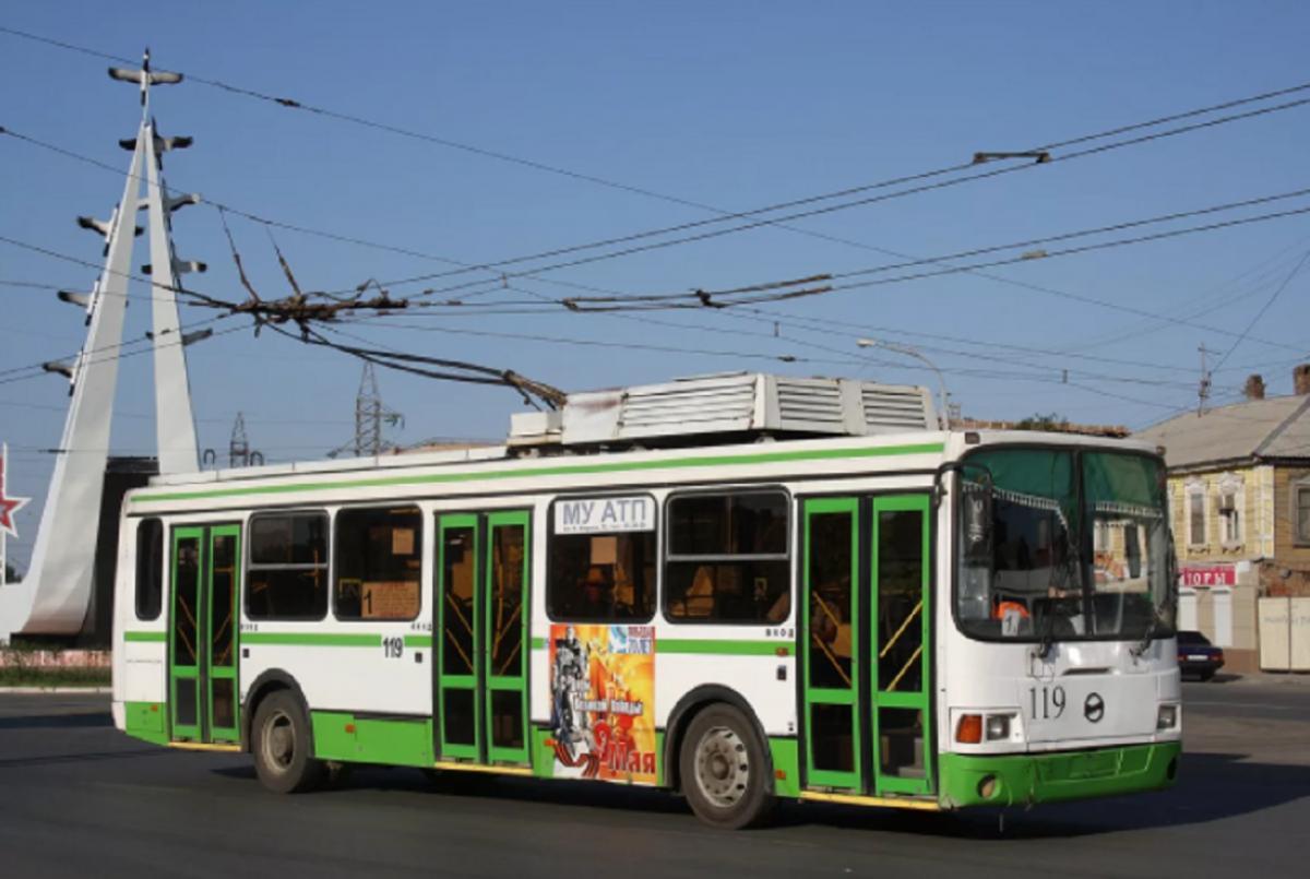 Общественный транспорт в Астрахани