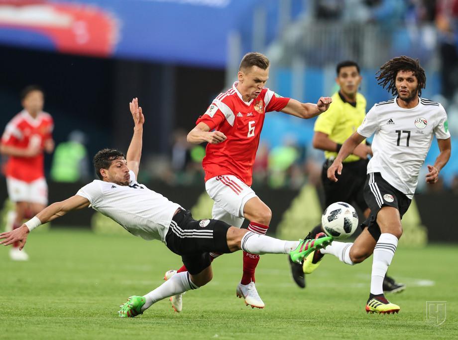Сборная России по футболу вышла в плей-офф ЧМ-2018