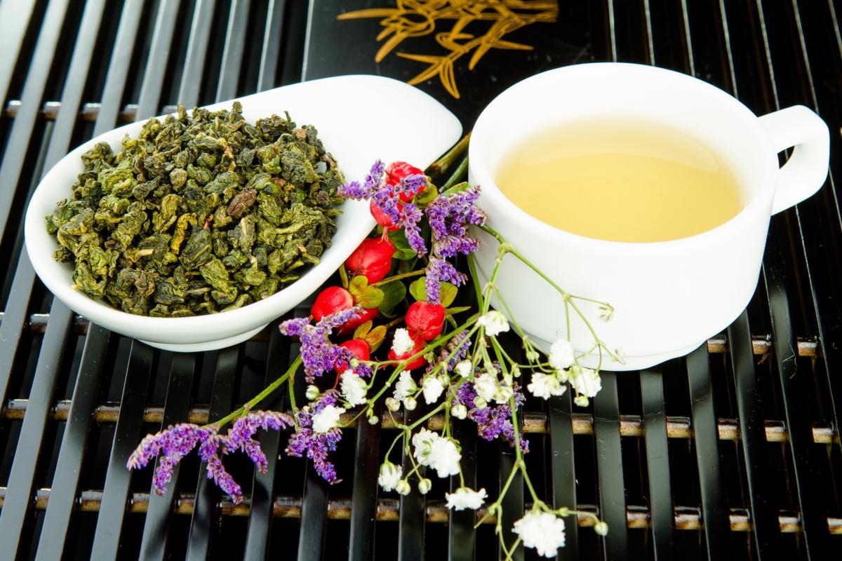 японский чай улун