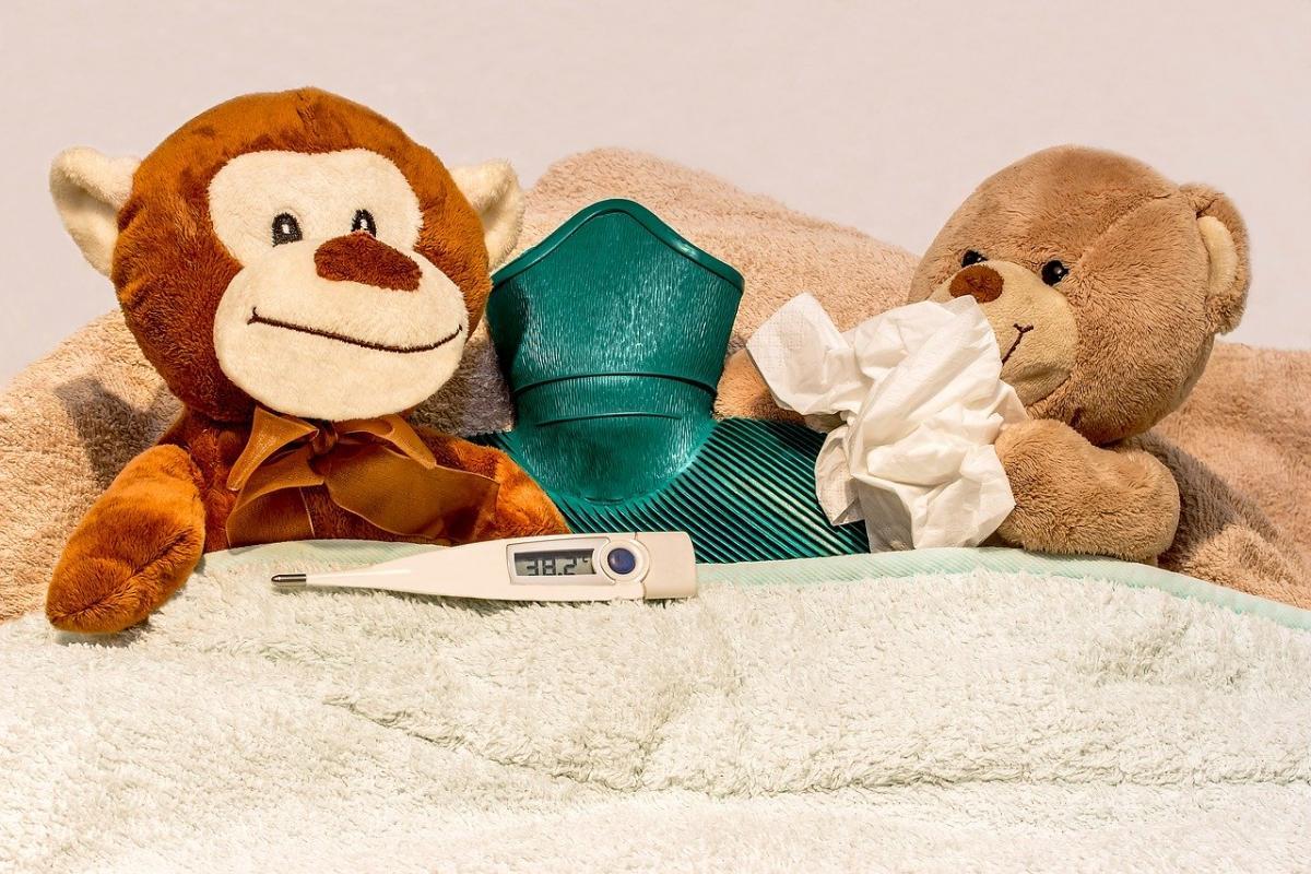 дети заболели пневмонией