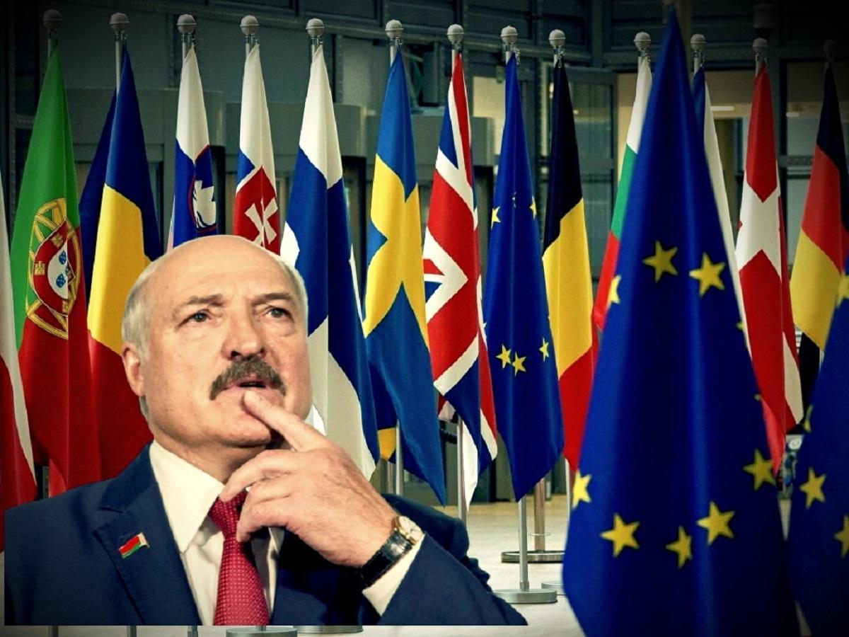 Лукашенко, президент, Евросоюз