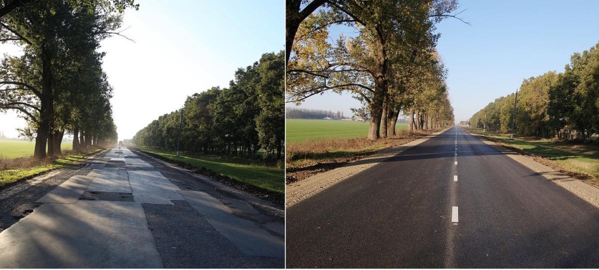 В Краснодаре отремонтировали одну дорогу