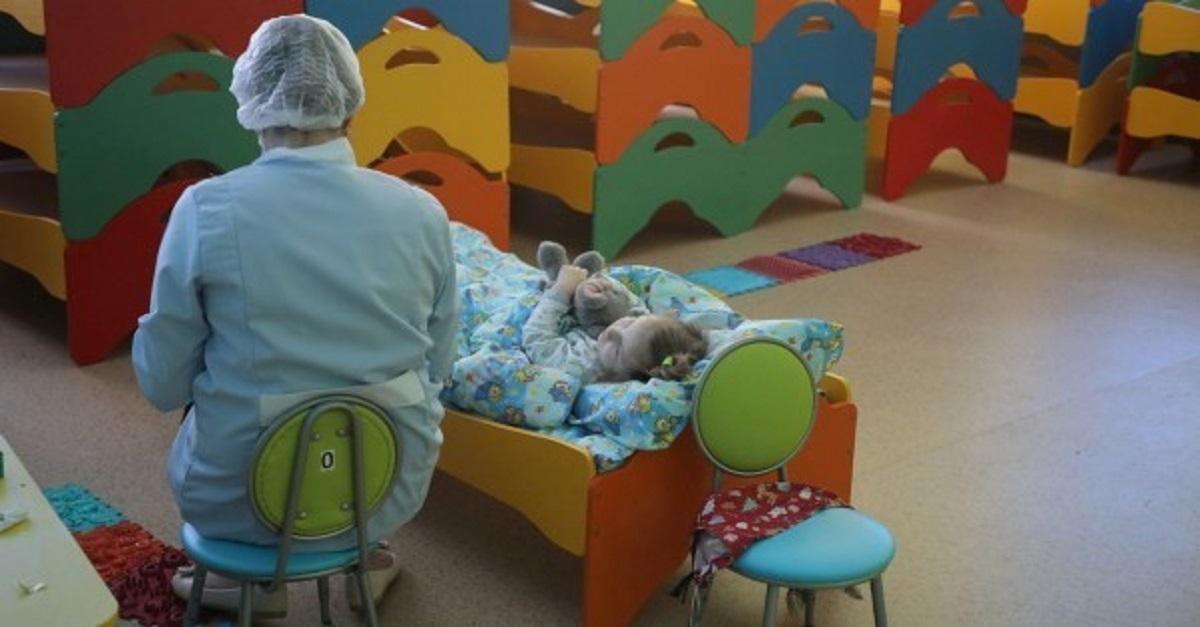 медсестра в детском саду