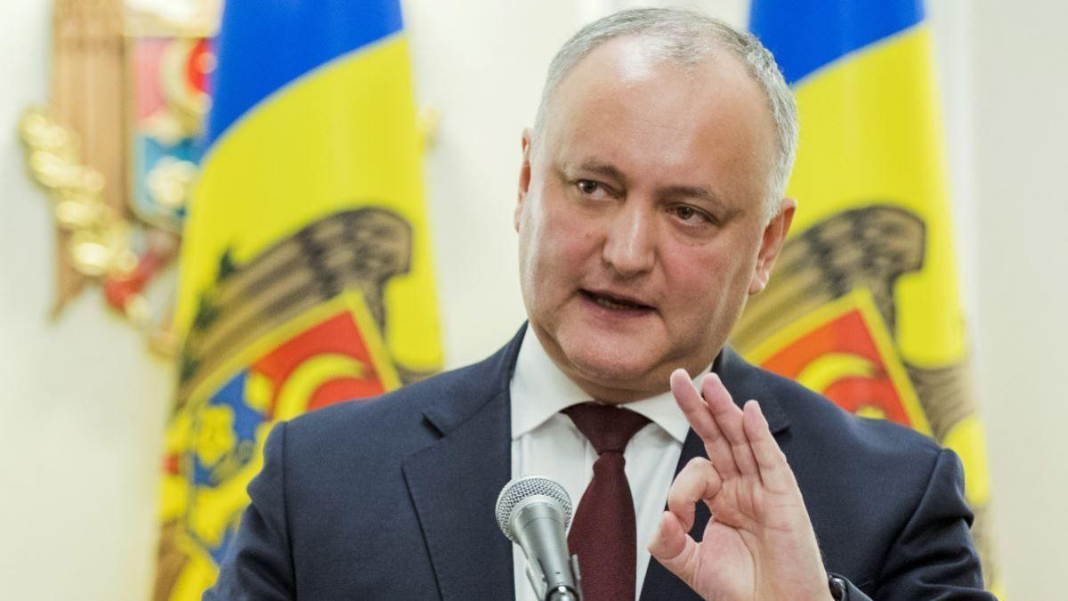 Додон ушёл с поста президента Молдавии, обещав вернуться