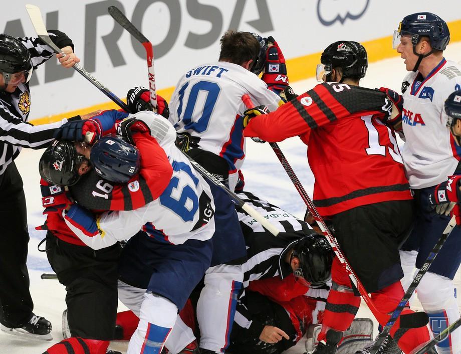 Еврохоккейтур 2017-2018, Кубок Первого канала, результаты матчей «Канада – Южная Корея» и других, расписание игр, прямая трансляция