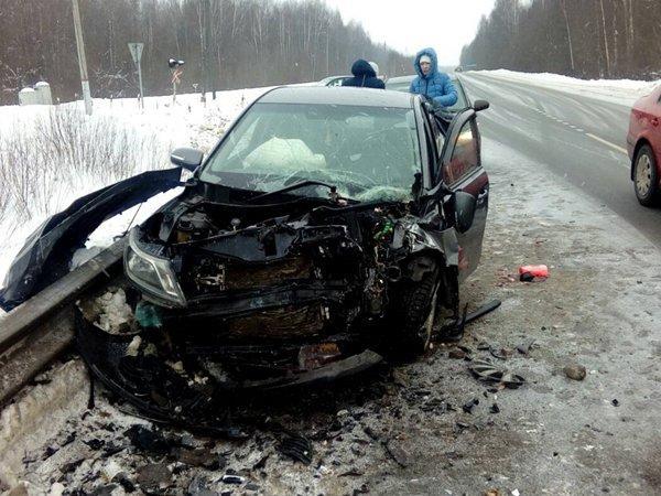 Авария вРостовской области унесла жизни двоих человек