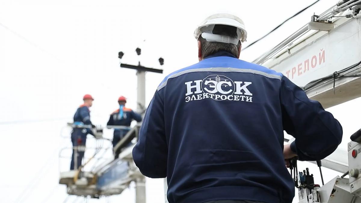 Работы по восстановлению электроснабжения