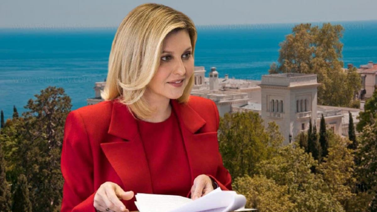 У жены Зеленского обнаружили элитную недвижимость в Крыму