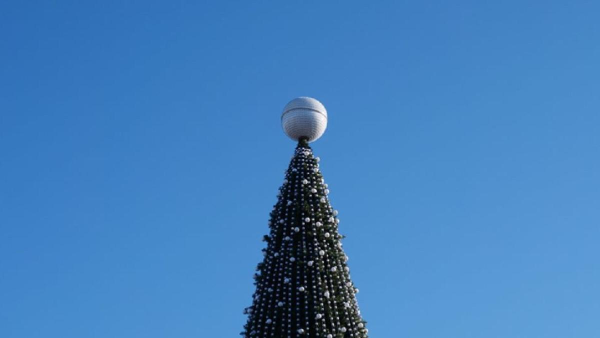 тайна шара на вершине главной елки Севастополя