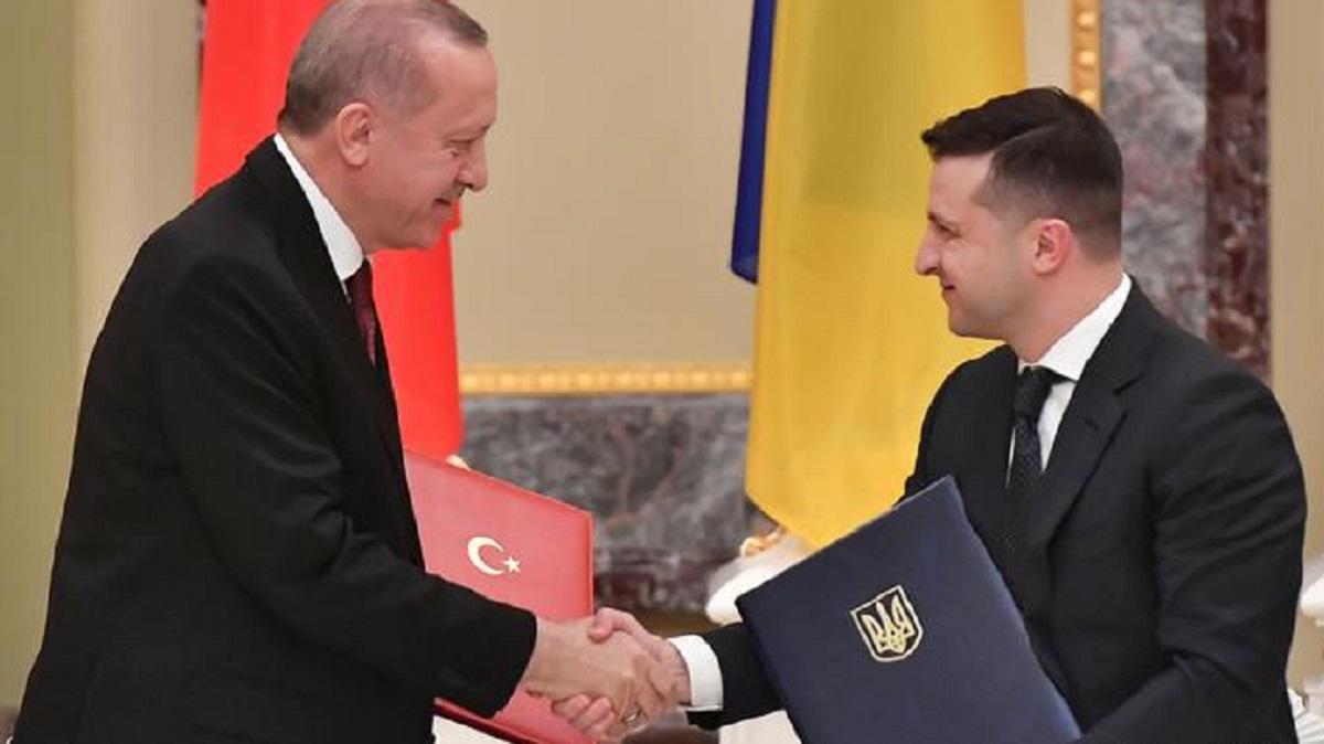 Эрдоган Турция Украина