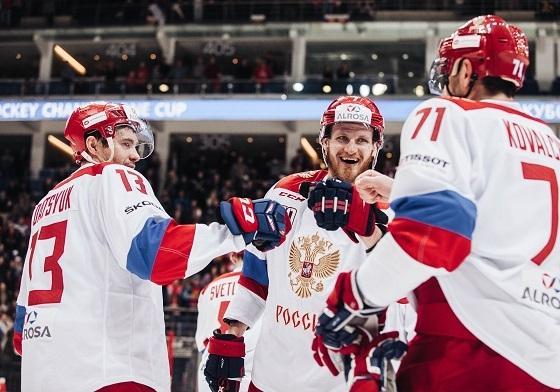 Еврохоккей тур 2017, Кубок Первого канала по хоккею: полный состав сборной России