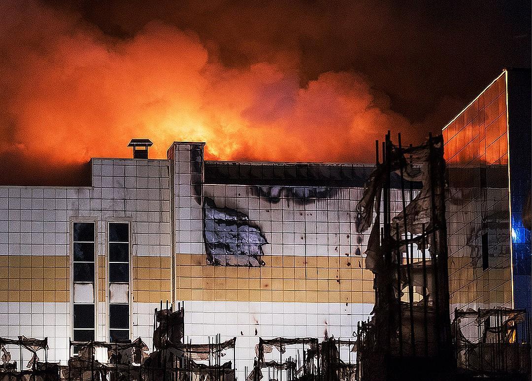 Названы официальные виновники пожара в ТЦ «Зимняя вишня»