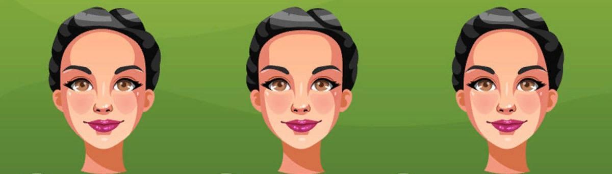 характер человека выбери картинку легкий тест быстрый тест по картинке какой характер человека по внешности выбери картинку какой лоб