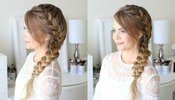 Французская коса: стильная и элегантная причёска, как заплести косу, техника плетения, видео