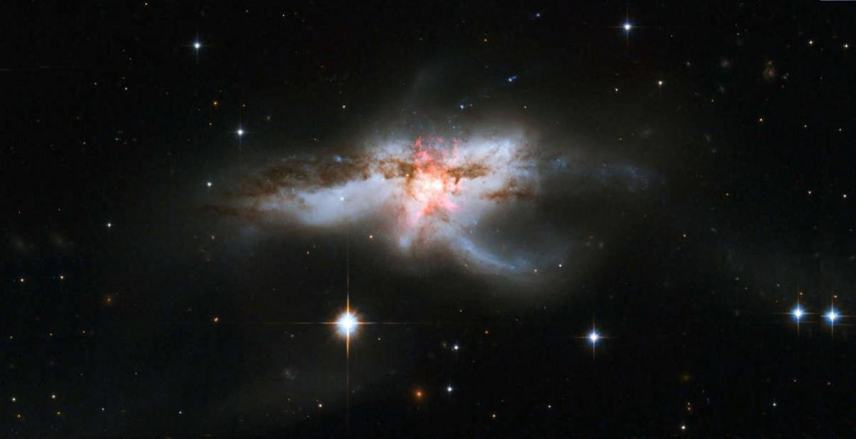 Галактика NGC 6240