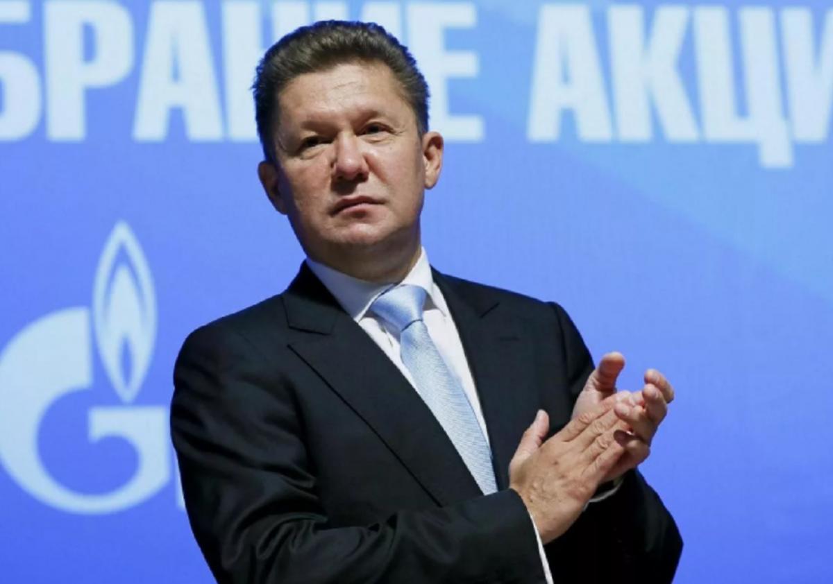 Глава Газпрома Миллер