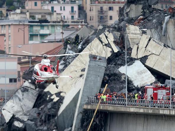 Обрушение моста в Генуе: число жертв увеличилось до 38 человек