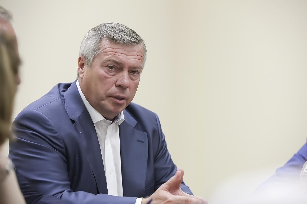 Василий Голубев глава Ростовской области
