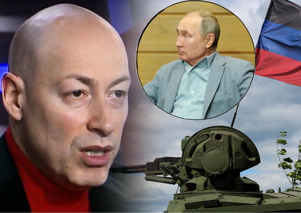 Гордон рассказал, чьи «элиты» завершат войну в Донбассе и при чем тут Путин